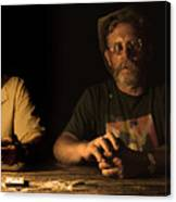 Poker Night Canvas Print