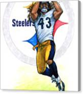 Polamalu  Canvas Print
