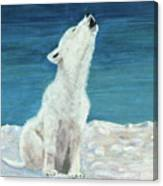 Polar Pup Canvas Print