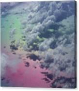 Polarized Caribbean Canvas Print