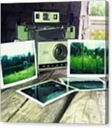 Polaroid Land 320 Canvas Print