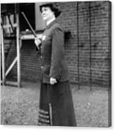 Policewoman, 1909 Canvas Print