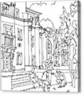 Polish Court Canvas Print
