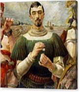 Polish Hamlet  Canvas Print