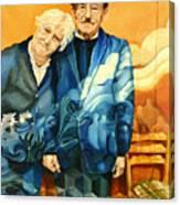 Polish Immigrants Canvas Print