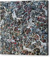 Pollock's Ghosts Canvas Print
