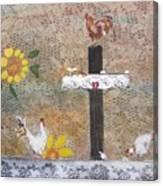 Pollos Canvas Print