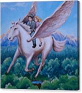 Polly And Diggory Canvas Print
