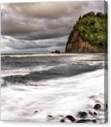 Pololu Whitewash Canvas Print