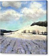 Pomfret Hills Canvas Print