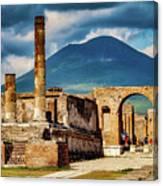 Pompeii Redeux Canvas Print