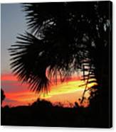 Ponce Inlet Florida Sunset Canvas Print