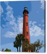 Ponce Inlet Light Canvas Print