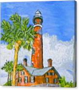 Ponce Lighthouse Canvas Print