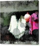 Poncho Porch Canvas Print