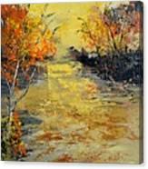 Pond  556180 Canvas Print