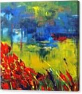 Pond 9030 Canvas Print