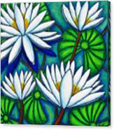 Pond Jewels Canvas Print