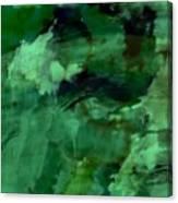 Pond Life Abstract Canvas Print