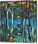 Pond Near Fourth Lake Canvas Print