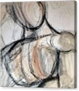 Pondering Mannequin Canvas Print
