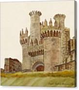 Medieval Templar Castle Of Year 1178 Art Print Home Decor Wall Art Poster F