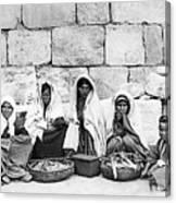 Ponfils 1898 Arab Women Canvas Print