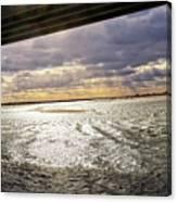 Ponquogue Sky Canvas Print