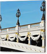 Pont Alexandre IIi - Paris, France Canvas Print