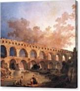 Pont Du Gard Canvas Print
