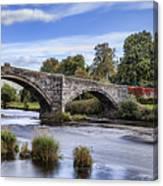 Pont Fawr Canvas Print