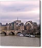 Pont Neuf In Paris Canvas Print