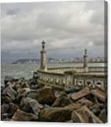 Ponta Da Praia Canvas Print