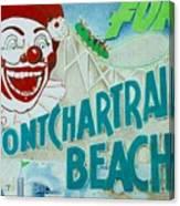 Pontchartrain Beach Canvas Print