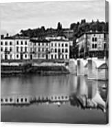 Ponte Alla Grazie Canvas Print