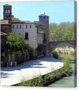 Ponte Cestio Canvas Print
