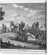 Ponte Mammolo Canvas Print