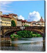 Ponte Santa Trinita Canvas Print