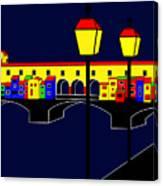 Ponte Vecchio Inspirations Canvas Print