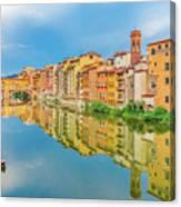 Ponte Vechhio Bridge 1 Canvas Print