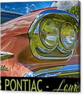 Pontiac 3 Canvas Print