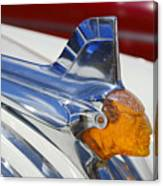 Pontiac Hood Ornament Canvas Print