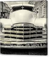 Pontiac Torpedo In Black And White Canvas Print