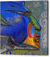 Pontiac War Leader Canvas Print