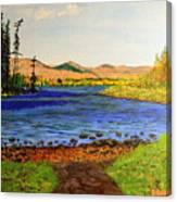 Pontoosuc Lake Pittsfield Massachusetts Canvas Print