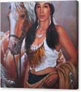 Pony Maiden Canvas Print