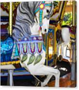 Pony Carousel - Pony Series 5 Canvas Print