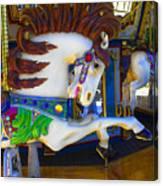 Pony Carousel - Pony Series 6 Canvas Print