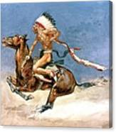 Pony War Dance Canvas Print