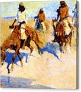 Pool In The Desert 1907 Canvas Print
